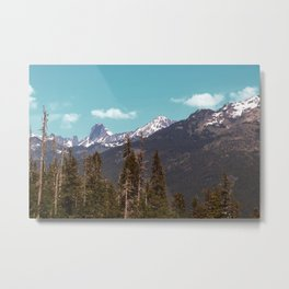 North Cascades, from Mt. Baker Metal Print