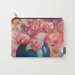 La vie en fleurs Carry-All Pouch