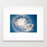 halo Framed Art Prints featuring Halo by RDelean