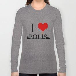 I Heart Polis Long Sleeve T-shirt