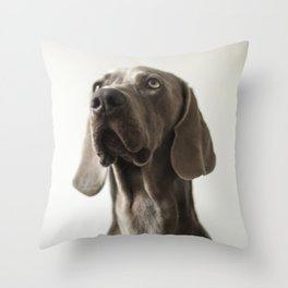 Portrait of Dave (2) Throw Pillow