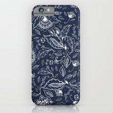Blue Paisley iPhone 6s Slim Case