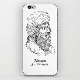 Johannes Liechtenauer iPhone Skin