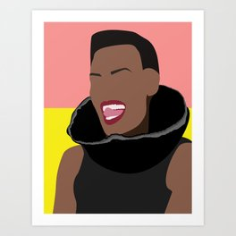 80's Style Icons Art Print
