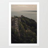 Scarborough Castle Art Print