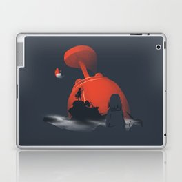 Furi Kuri - Nothing amazing happens here Laptop & iPad Skin