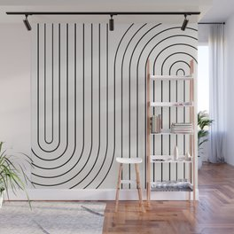 Minimal Line Curvature I Wall Mural