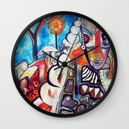 O.P.A.T.F Wall Clock