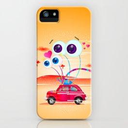 Garden Snail Road Trip iPhone Case