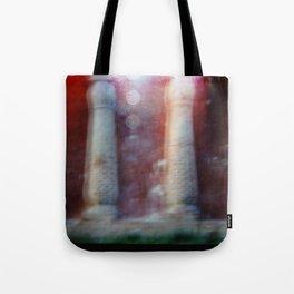 Strange Lights Tote Bag