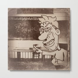 Skul Daze Metal Print