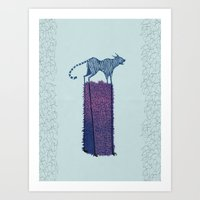 Forgive me, Tigress. Art Print