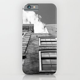 Dutch architecture in Amsterdam iPhone Case