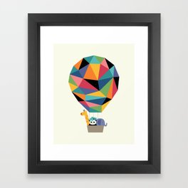 Fly High Together Framed Art Print