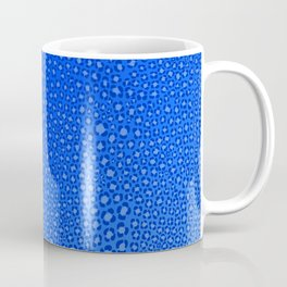 Wild Thing Cool Blue Leopard Print Coffee Mug