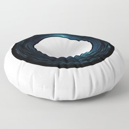Seven Inch Vinyl Floor Pillow