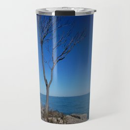 So Near, But Yet So Far #1 (Chicago Northerly Island Collection) Travel Mug