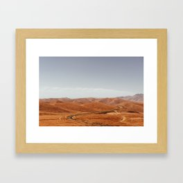 California 01 Framed Art Print
