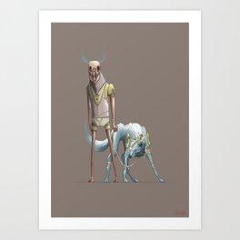 Munsters Art Print