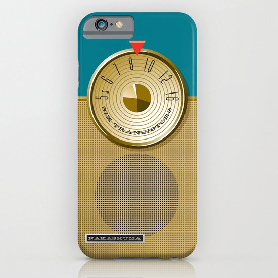 the Nakashuma Mark 3 in Teal iPhone & iPod Case