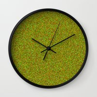 camo Wall Clocks featuring camo by ecceGRECO