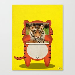 Real Tiger Canvas Print