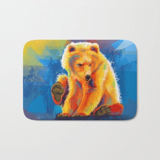 Play with a Bear Bath Mat
