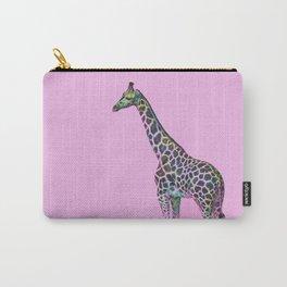 Chromatic Giraffe Carry-All Pouch