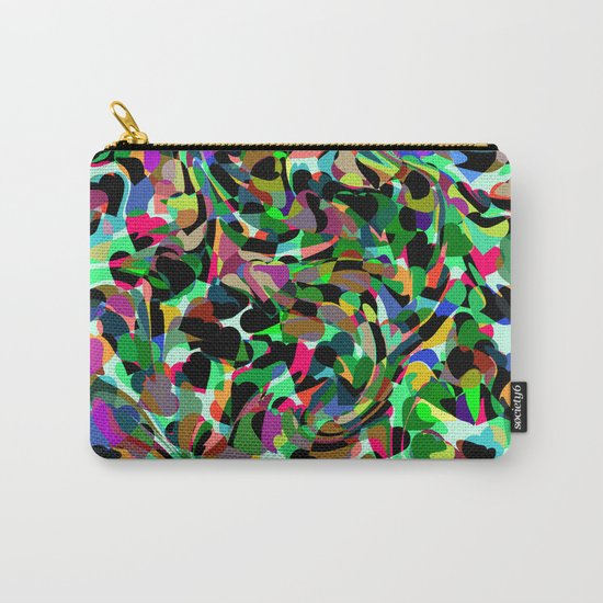 Abstract dance of hearts Carry-All Pouch