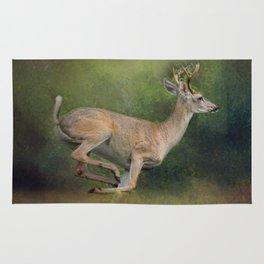 Buck on the Run - Deer - Wildlife Rug