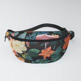 Floral and Flemingo II Pattern Fanny Pack