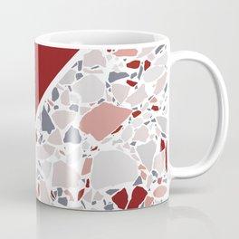 Claret Terrazzo Coffee Mug