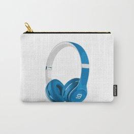 Vive la musique - Headphones, by SBDesigns Carry-All Pouch