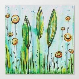 Underwater Trees Canvas Print