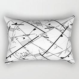 I heart Geo Rectangular Pillow