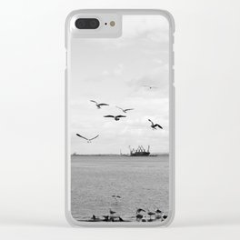 Tejo and the birds Clear iPhone Case