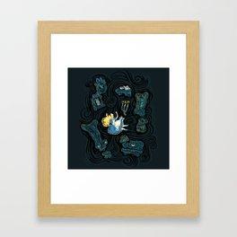 Alice's Fall Framed Art Print