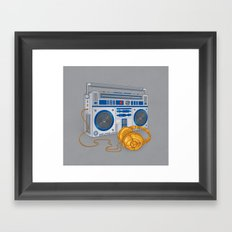 Recycled Future Framed Art Print