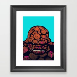 Whump! Framed Art Print