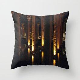 Light Underground!  Throw Pillow