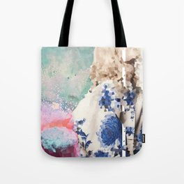 Crystal Explosions Tote Bag