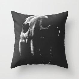Saber Tooth Tiger Throw Pillow