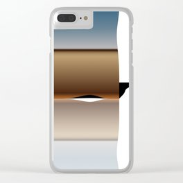 transformationalphysicsandelectronradiation Clear iPhone Case