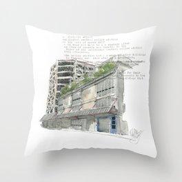 41 Victoria Street Throw Pillow