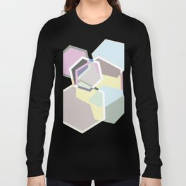 Overlapping Polygons Long Sleeve T-shirt