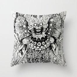 Nameless one Throw Pillow