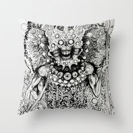 Nameless one Throw Pillow