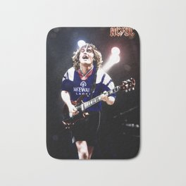 RangersStruck,  Angus Young in colour Bath Mat