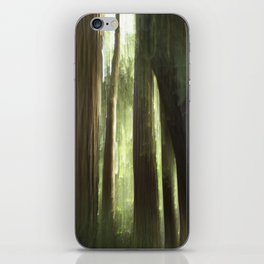 Redwood Abstract iPhone Skin