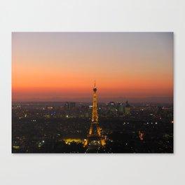 A Night in Paris. by Michelle McLaughlin. Canvas Print